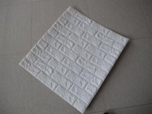 SGS RoHS Anti-Fire llegar a Espuma de polietileno Wallpaper fondos de pantalla 3D Diseño 3D de ladrillo de adhesivo de pared