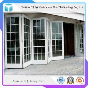 Sound-Proof Heat-Insulated Poupança energia Bi-Folding porta de alumínio