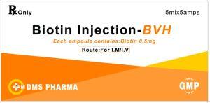 De Fabriek van de Vitamine H GMP van de Vitamine van de Injectie van de biotine B7