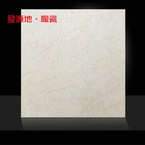De verglaasde Tegel met Marmer ziet en Glanzende Oppervlakte 6004 eruit
