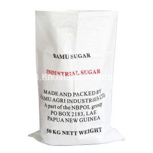 Usine 10kg 25kg 50kg de farine de riz sucre PP Sac tissé avec feuille de tissu