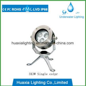 LED de alta potencia natación subacuática manchas de luz LED Piscina