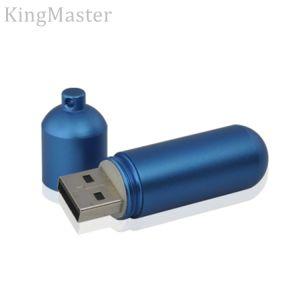 Король Master синий металл пера USB флэш-накопителей USB