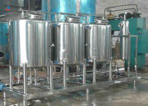 Acier inoxydable industriel personnalisé contenant de l'eau La préservation de la chaleur du réservoir de stockage