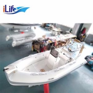 Bote inflable rígido Ilife China inflables rígido Rib 430 barcos para 8 persona