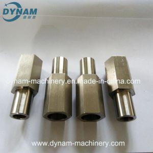 Подвергать механической обработке CNC нержавеющей стали точности квадратной штанги материальный