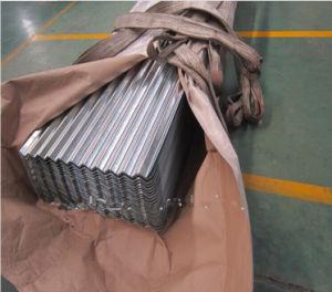 Aluzinc ondulato ricoperto/galvanizzato coprendo la lamiera di acciaio sinusoidale di profilo