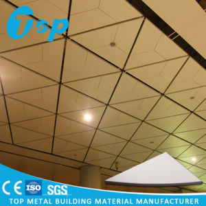 2017 Nouvelle conception en aluminium perforé faux plafond Triangle de tuiles de bord