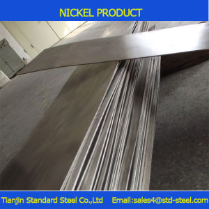 10mm 99,8% de pureté de la plaque de Ni N4 N6