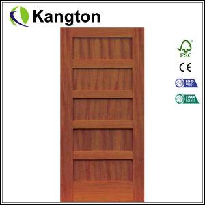 La puerta de madera maciza puerta de madera compuesto (sólido)