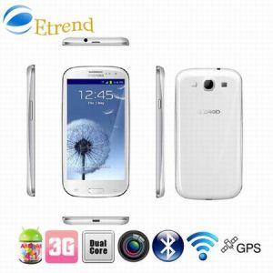 4.7 4.1 SO Android Mtk6577 com Núcleo duplo, 3G DUPLO SIM Smart Phone (N9300)