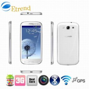 4.7  OS Mtk6577 Dual Core 3G Dual SIM Smart Phone (N9300) del Android 4.1