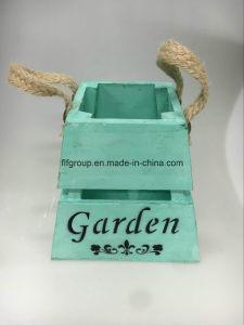Модные растений из дерева в стиле ретро индивидуального Flowerpot держателя