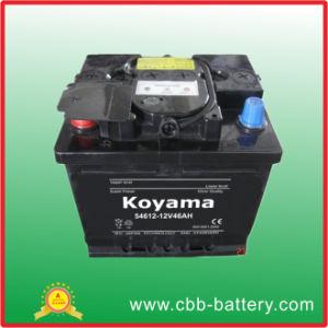 Mf 54612 (46AH 12V) la norma DIN libres de mantenimiento de automóviles a partir de la batería de coche