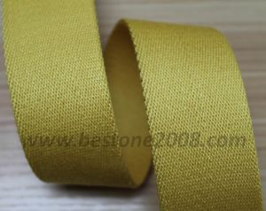 De uitstekende kwaliteit Gesponnen Riem van de Singelband van de Keperstof van de Polyester voor Bag#1401-23