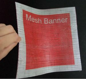 ポリエステル支払能力がある印刷のための正方形のメッシュ生地