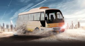 Mini-autocarro urbano de passageiros exclusivamente eléctricos
