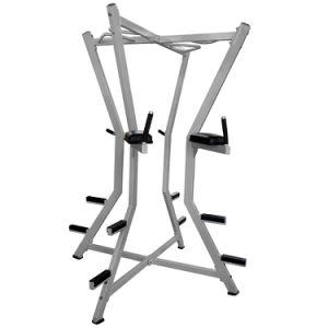 Macchine multifunzionali di forma fisica del corpo della cremagliera di Dumbbell di ginnastica