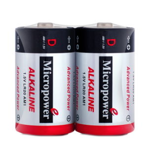 SuperQuality Alkaline Dry Battery 1.5V D/Lr20