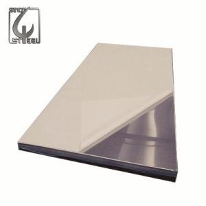 Laminados en frío de la superficie 2b de la hoja de acero inoxidable recubierto de PVC