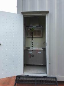 40FT conteneurs préfabriqués Chambre avec salle de bains et cuisine