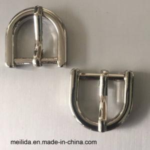 Anneau de haute qualité d forme pédoncules de ceinture en métal de slivoïde broche
