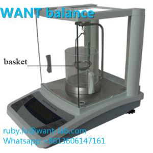 60g 1mg 0,001 g Miligram échelles analytiques de laboratoire avec pare-brise en verre