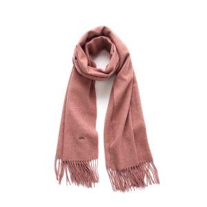 A largo señoras la moda bufanda de lana con flecos (AQA LS-1002)