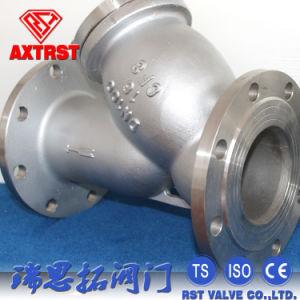 Pn16 de Industriële Roestvrij staal Van een flens voorzien Zeef van Y