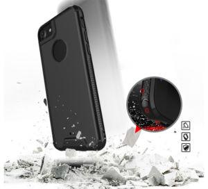 プラスiPhone 8/8のための明確なパソコンのアクリル超薄く柔らかいTPUの豊富な衝撃の証拠の電話箱