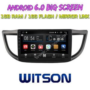 Witson 10,2 большой экран Android 6.0 DVD для Honda CRV средней и высокой 2012-2015 с исходным экраном