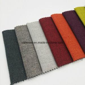 Sellerie Polyester Home Textile tissu tissé teint clair canapé