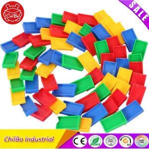 Fancy Domino Bloques de construcción para la inteligencia de juguete