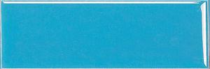 De blauwe 4X12inch/10X30cm Verglaasde Opgepoetste Ceramiektegel van de Muur van de Tegel van het Porselein