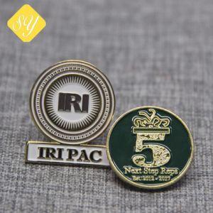 고품질 주문 로고 보안관 접어젖힌 옷깃 Pin 기념품 금속 기장
