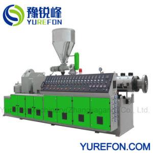 Пластиковый ПВХ конический двухшнековый экструдер для трубы профиль лист штампованный алюминий