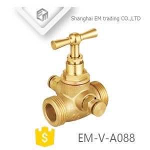 Valvola d'ottone, senza piombo filettato d'ottone della valvola di ritenuta (EM-V-A088)