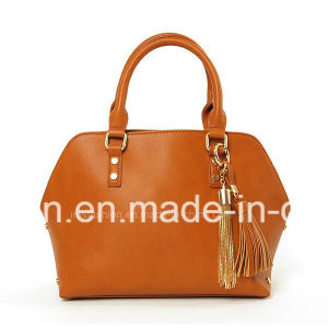 ふさを持つLeather Satchel Handbags Designer 2018の方法女性