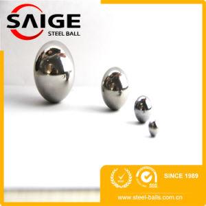 1,2 mm G100 SUS304 Bille en acier inoxydable avec SGS/ de la certification ISO