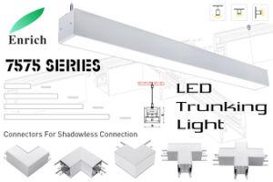 2019 Hot! Suspendido lineal LED Luz Trunking para Office, supermercados, almacenes
