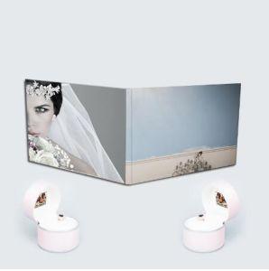 A5 Custom графическое оформление свадебных видео карта