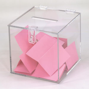 درجة علويّة أكريليكيّ اقتراح هبة صندوق مع تعقّب هويس