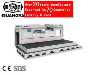 Máquina de corte automático de morrer para o menor tamanho de papel (800*620mm)