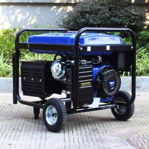 バイソン(中国) BS6500p 5kwの携帯用長期間の時間ガソリン発電機