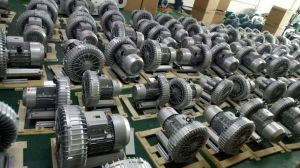 O Soprador Regenerativa Manvac 7.5Kw 10 HP Vortex da Bomba de Ar