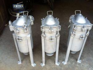 ステンレス鋼カスタマイズされた水清浄器の鋳造のバッグフィルタハウジング