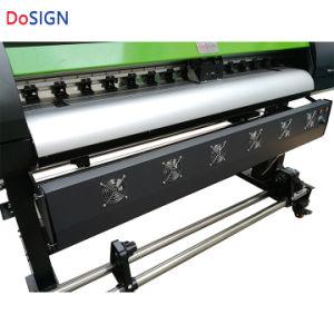 高い安定した普及した1.6m速い大きいフォーマットのデジタルインクジェットEcoの印字機