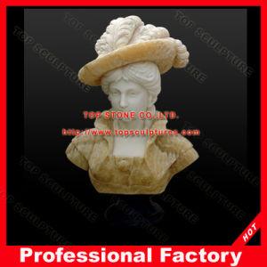 Marmeren Vrouwelijke Dame Bust Statue voor Decoratie