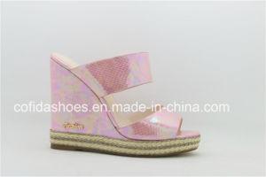 Nouveau mode de hauts talons Beige Lady sandale