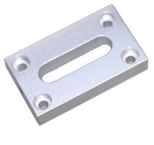 CNC обрабатывающий литой алюминиевый резки стальных деталей